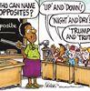 Today's cartoon: Opposites